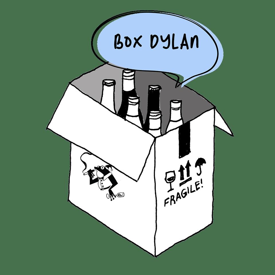 Vini Mariani Noel 2020 Box Dylan Bouteilles Vin